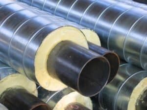Стальные трубы ППУ: устройство и особенности производства